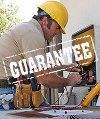 replacement hvac with warranty guaranteed